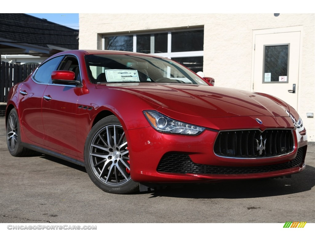 2015 maserati ghibli s q4 in rosso energia red 138702. Black Bedroom Furniture Sets. Home Design Ideas