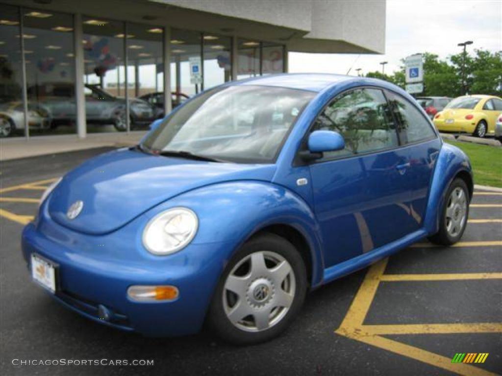 1999 volkswagen new beetle gls coupe in bright blue metallic 440265. Black Bedroom Furniture Sets. Home Design Ideas