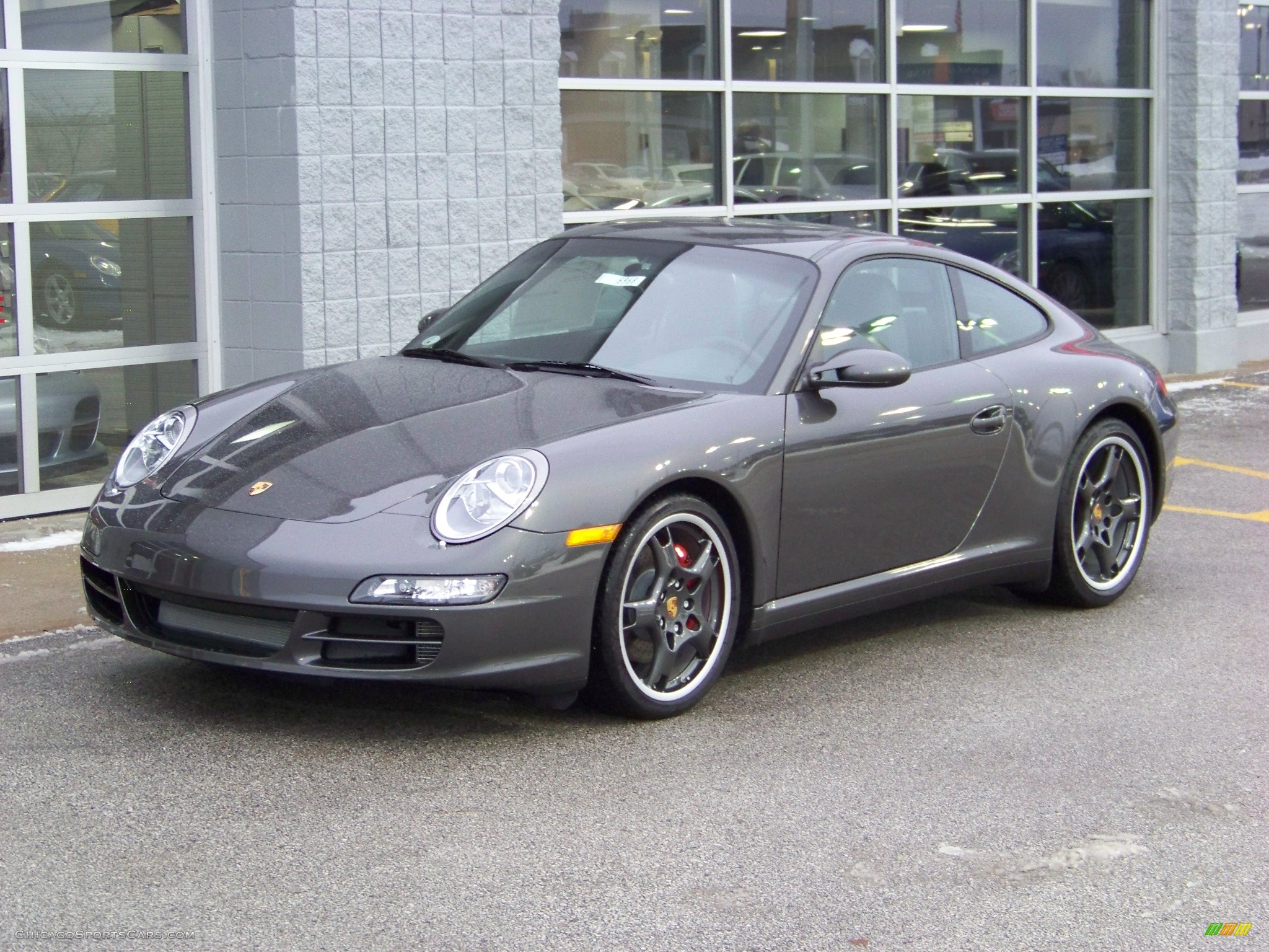 2008 porsche 911 carrera 4s coupe in slate grey metallic. Black Bedroom Furniture Sets. Home Design Ideas