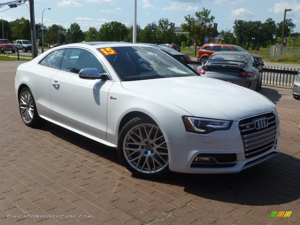 2015 audi s5 3 0t prestige quattro coupe in ibis white 026621 cars. Black Bedroom Furniture Sets. Home Design Ideas