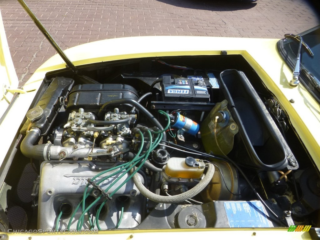 1971 Fulvia S - Yellow / Black photo #11