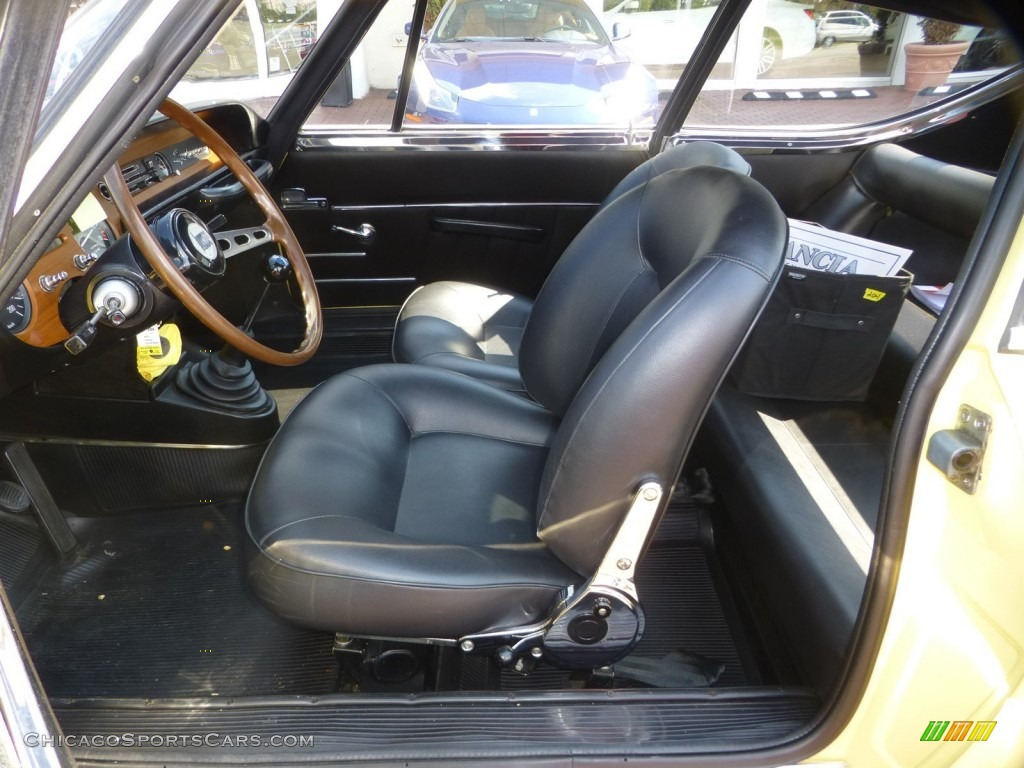 1971 Fulvia S - Yellow / Black photo #15