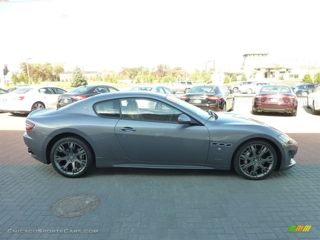 2013 GranTurismo Sport Coupe - Grigio Alfieri (Grey) / Cuoio photo #2