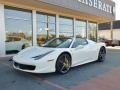 Ferrari 458 Italia Bianco Avus (White) photo #12