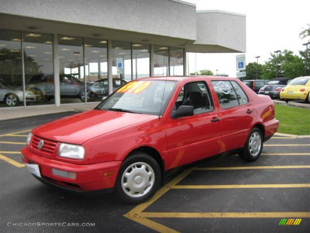1997 Volkswagen Jetta Gl Sedan In Tornado Red 109705 Chicagosportscars Com Cars For Sale
