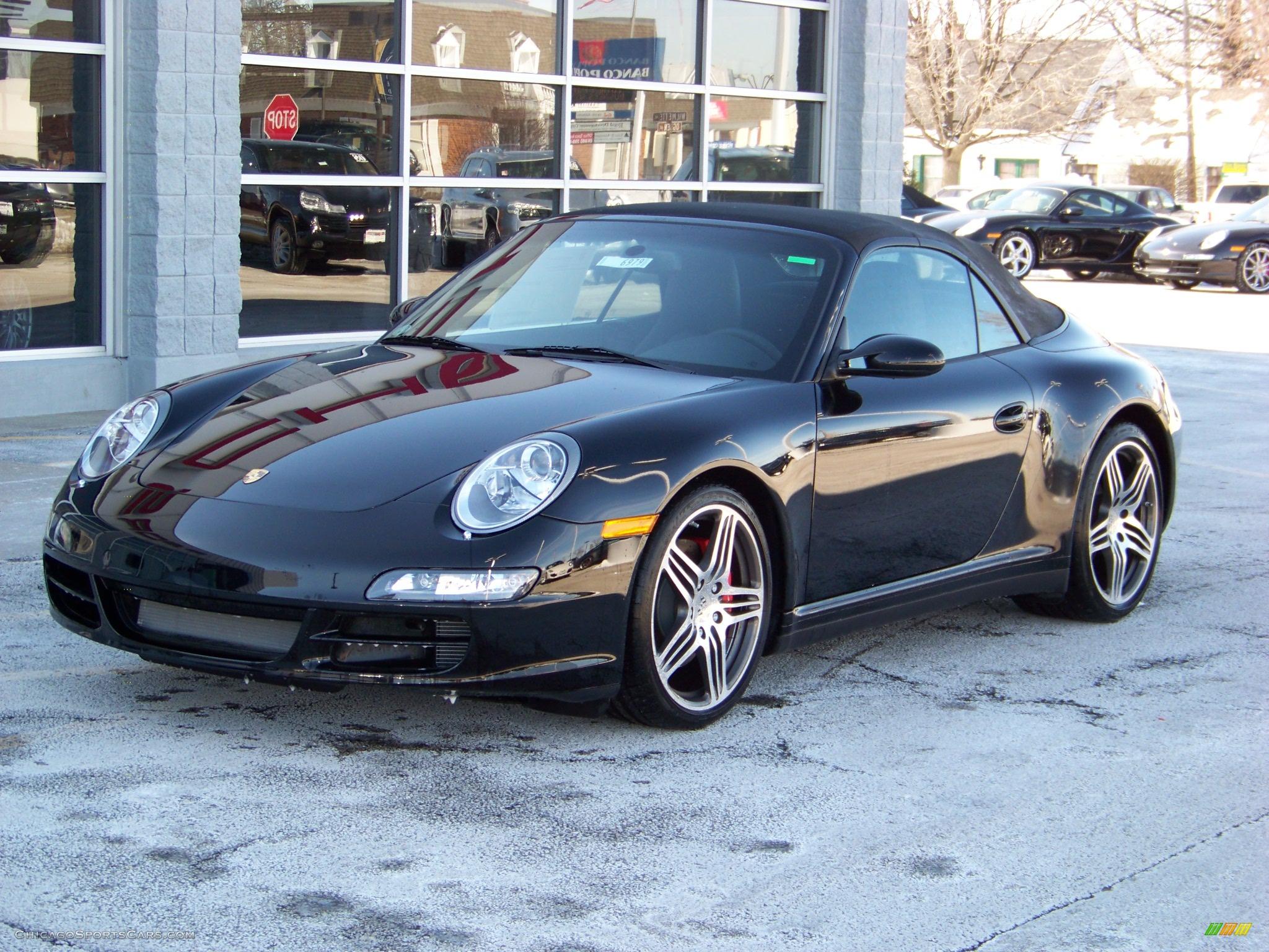 2008 porsche 911 carrera 4s cabriolet in black 776324 cars for sale. Black Bedroom Furniture Sets. Home Design Ideas
