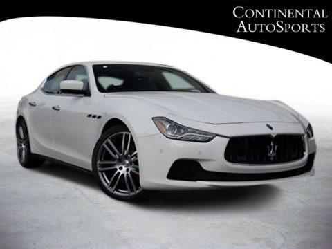Bianco (White) 2014 Maserati Ghibli S Q4