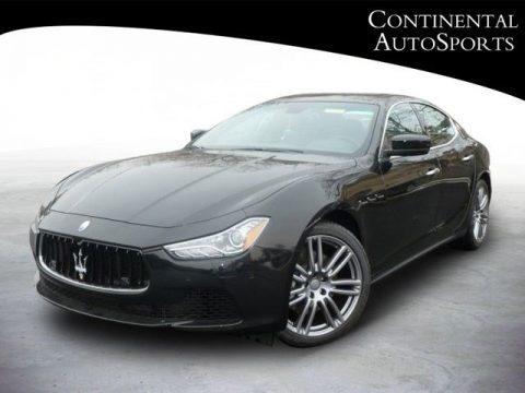 Nero (Black) 2014 Maserati Ghibli