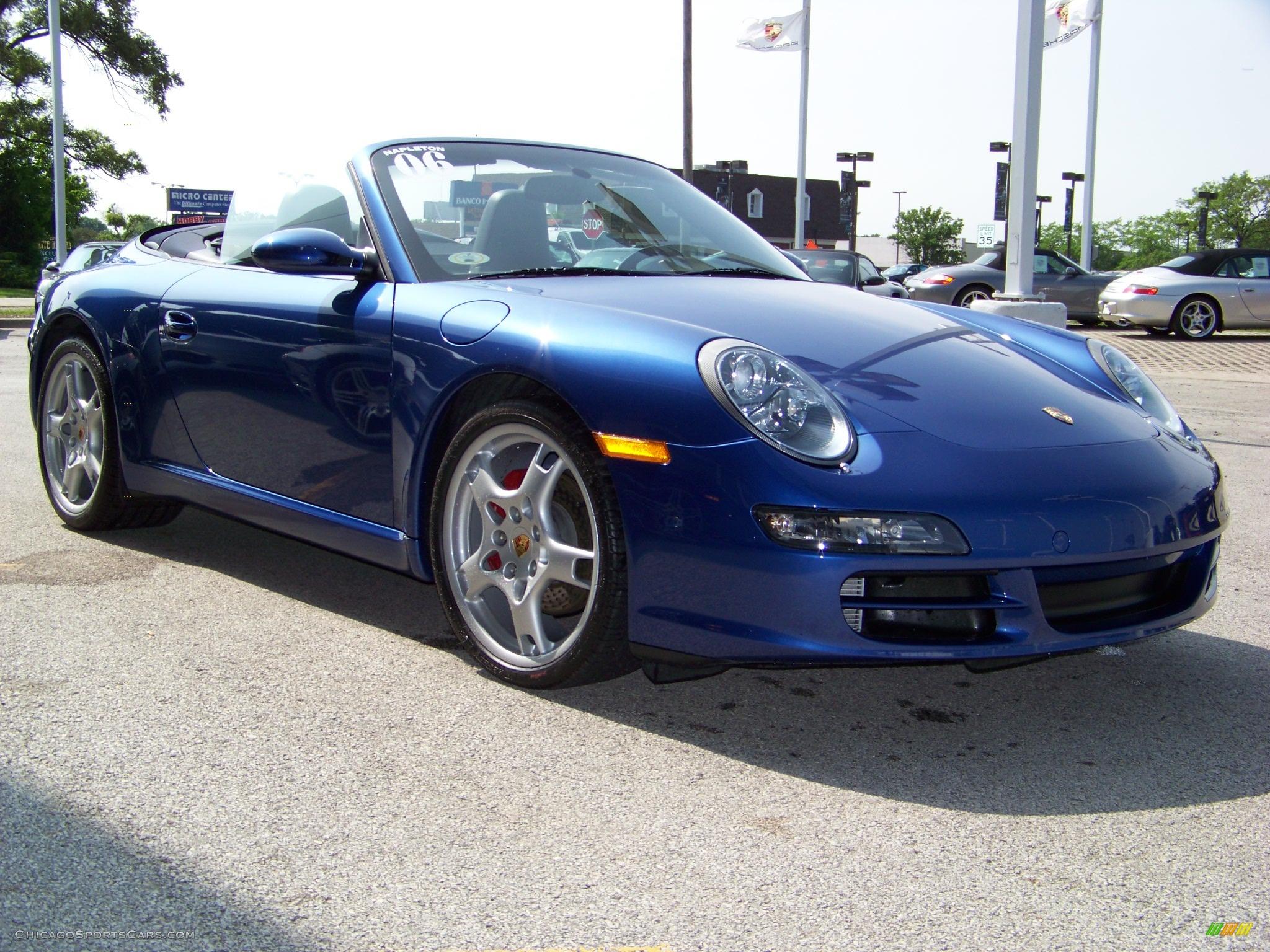 2006 Porsche 911 Carrera Cabriolet in Cobalt Blue Metallic ...