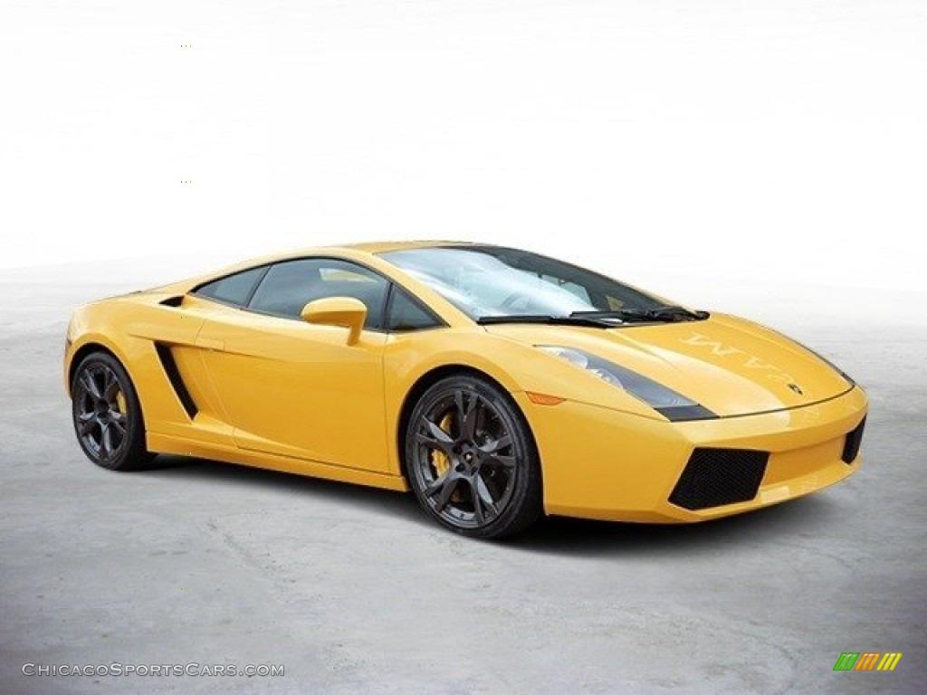 2007 Gallardo Coupe - Giallo Halys (Yellow) / Black/Yellow photo #2