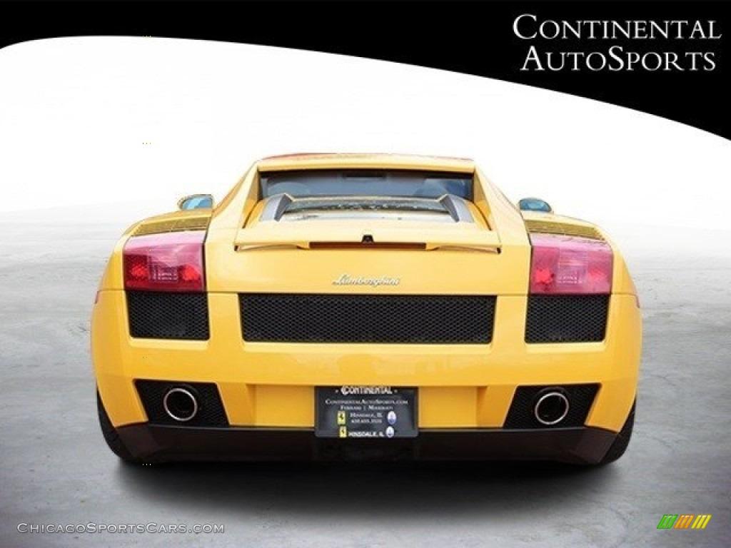 2007 Gallardo Coupe - Giallo Halys (Yellow) / Black/Yellow photo #5