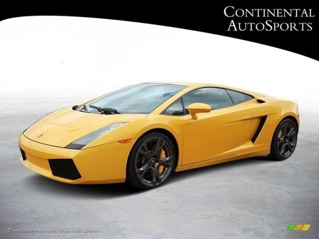 2007 Gallardo Coupe - Giallo Halys (Yellow) / Black/Yellow photo #8
