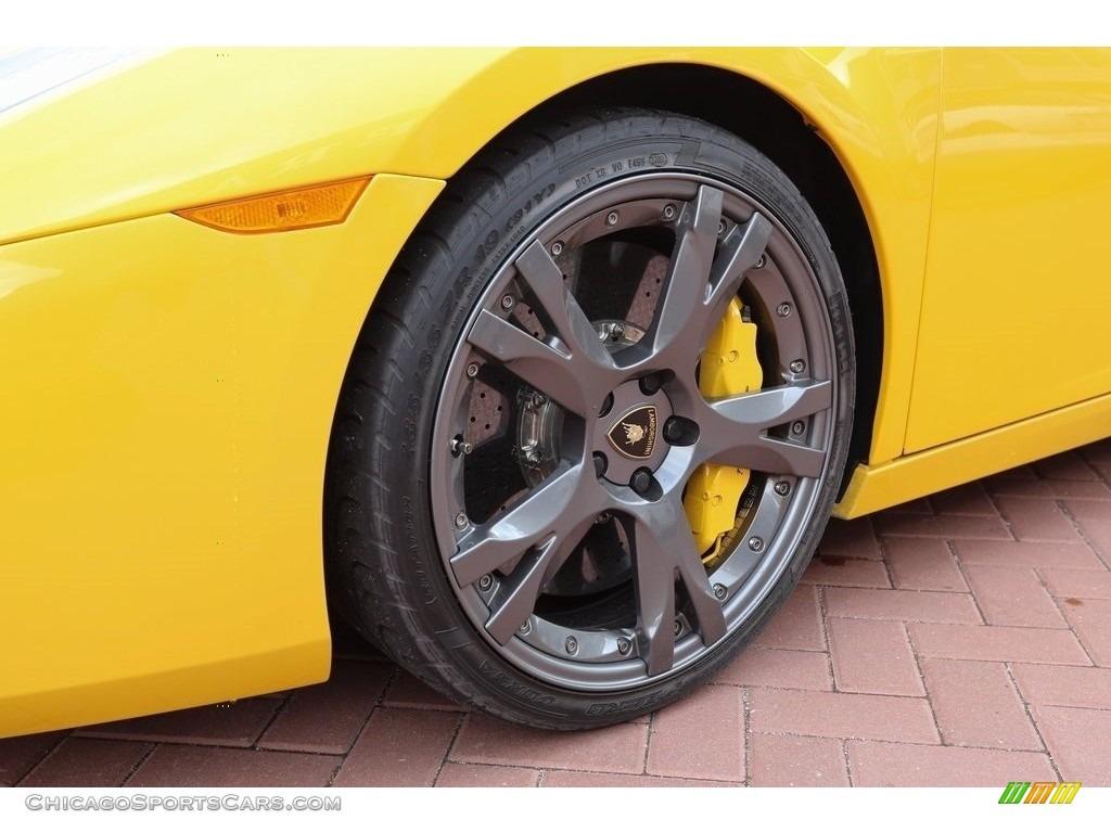 2007 Gallardo Coupe - Giallo Halys (Yellow) / Black/Yellow photo #10