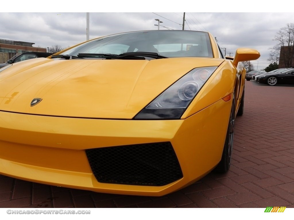 2007 Gallardo Coupe - Giallo Halys (Yellow) / Black/Yellow photo #11