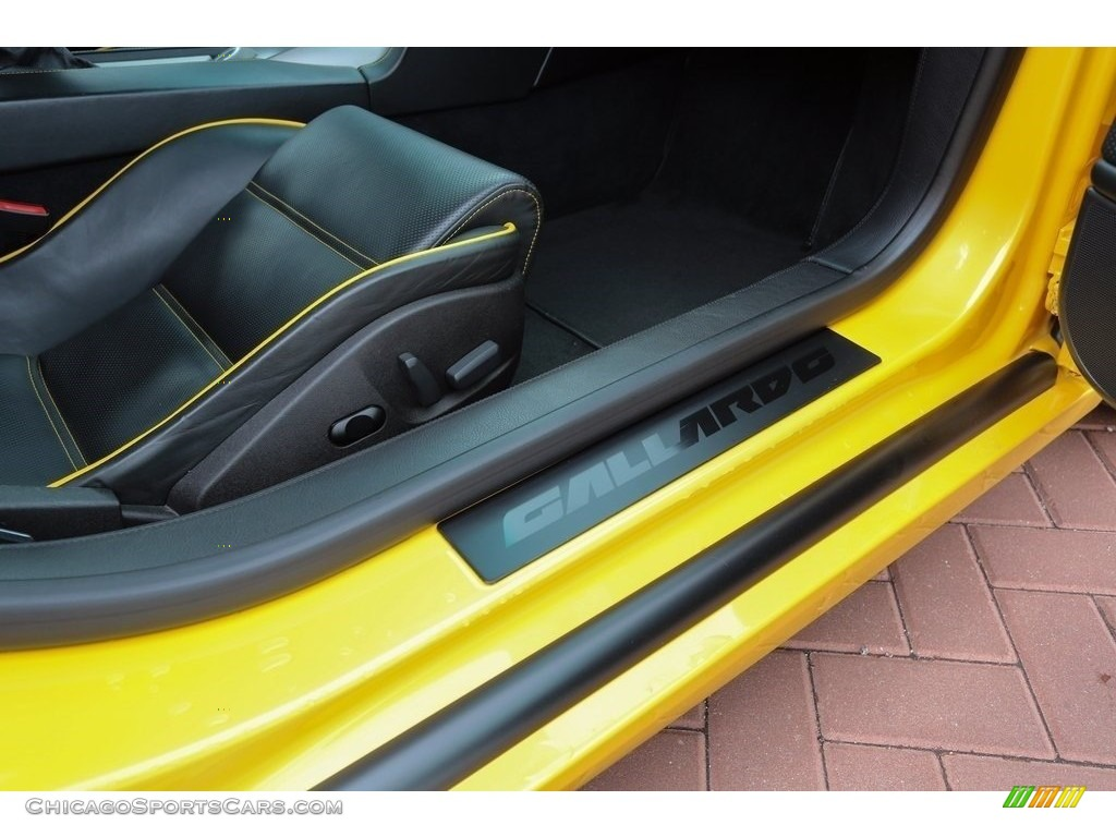 2007 Gallardo Coupe - Giallo Halys (Yellow) / Black/Yellow photo #18