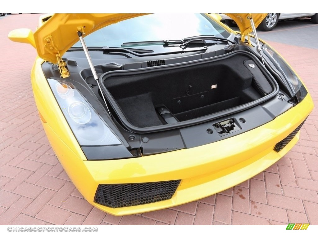 2007 Gallardo Coupe - Giallo Halys (Yellow) / Black/Yellow photo #27