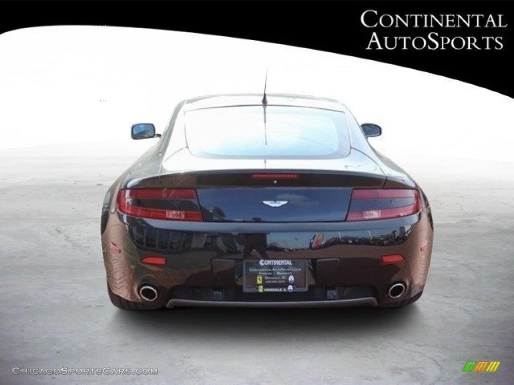 2007 V8 Vantage Coupe - Black / Kestrel Tan photo #5
