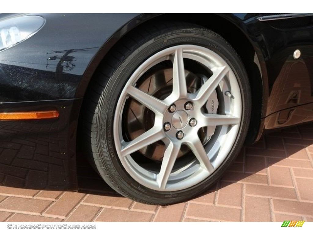 2007 V8 Vantage Coupe - Black / Kestrel Tan photo #10