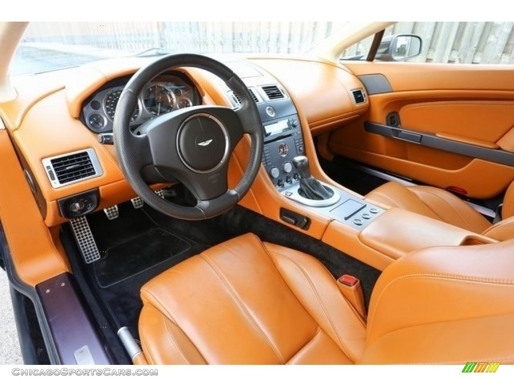 2007 V8 Vantage Coupe - Black / Kestrel Tan photo #12