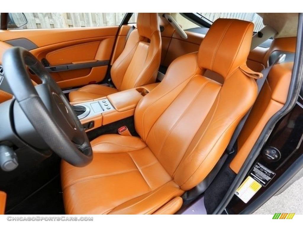 2007 V8 Vantage Coupe - Black / Kestrel Tan photo #13