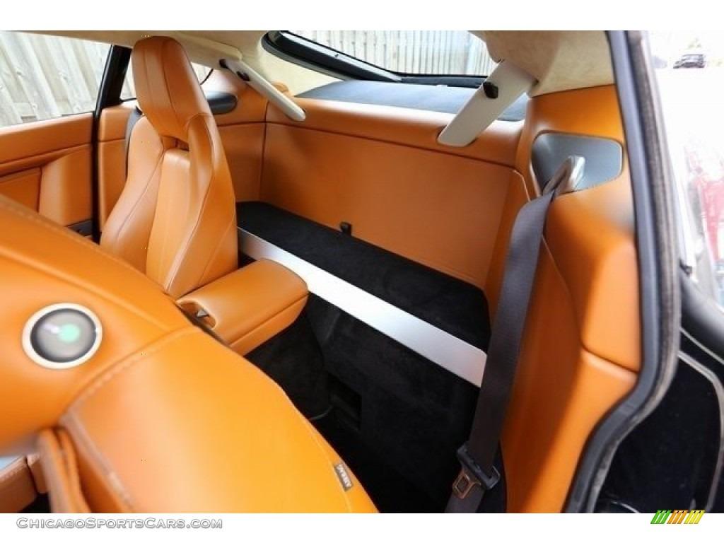 2007 V8 Vantage Coupe - Black / Kestrel Tan photo #14