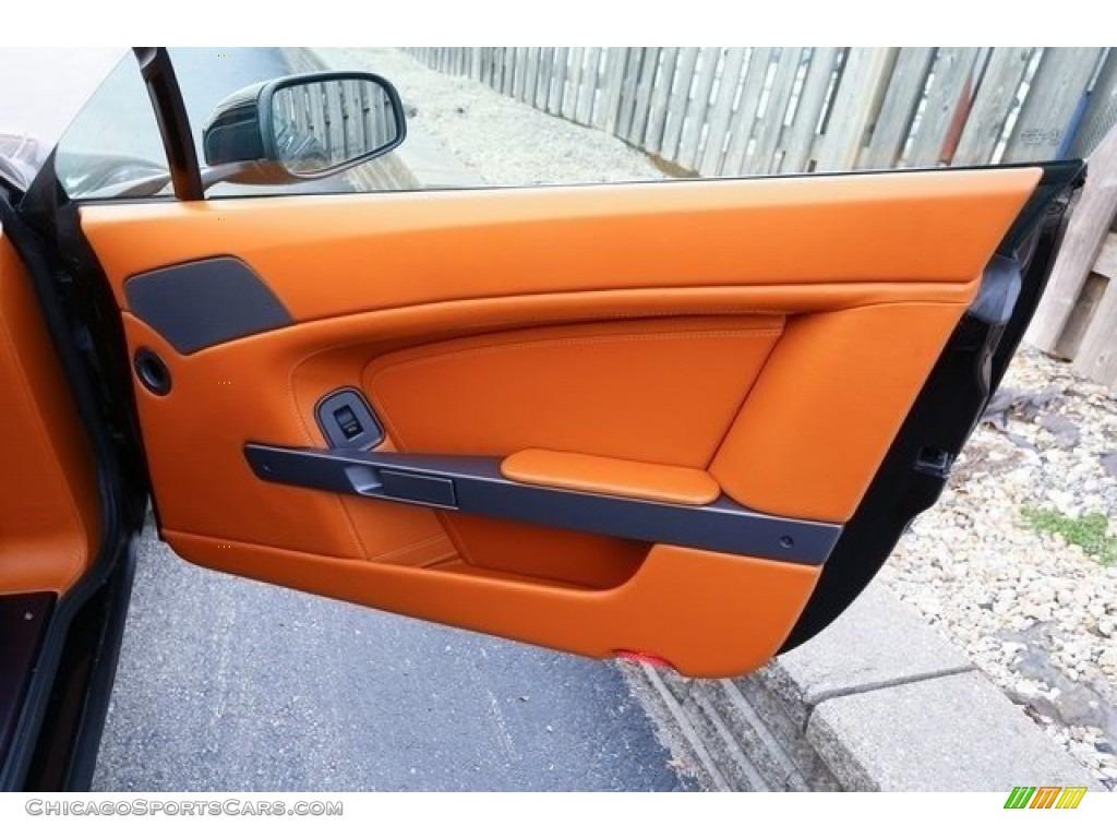 2007 V8 Vantage Coupe - Black / Kestrel Tan photo #15