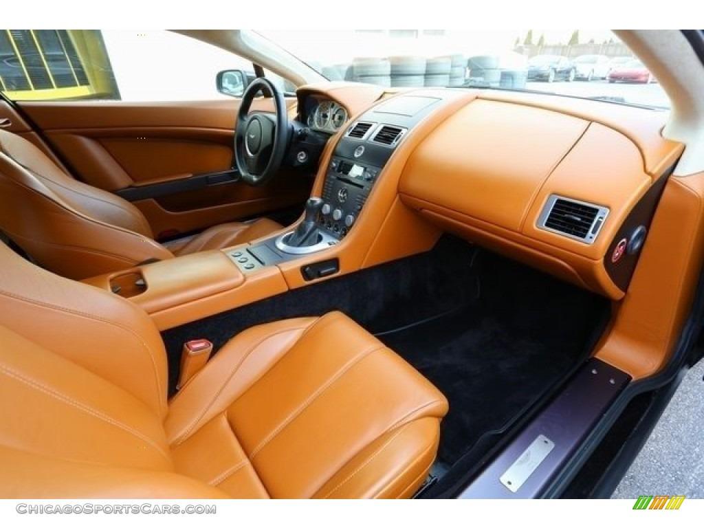 2007 V8 Vantage Coupe - Black / Kestrel Tan photo #16