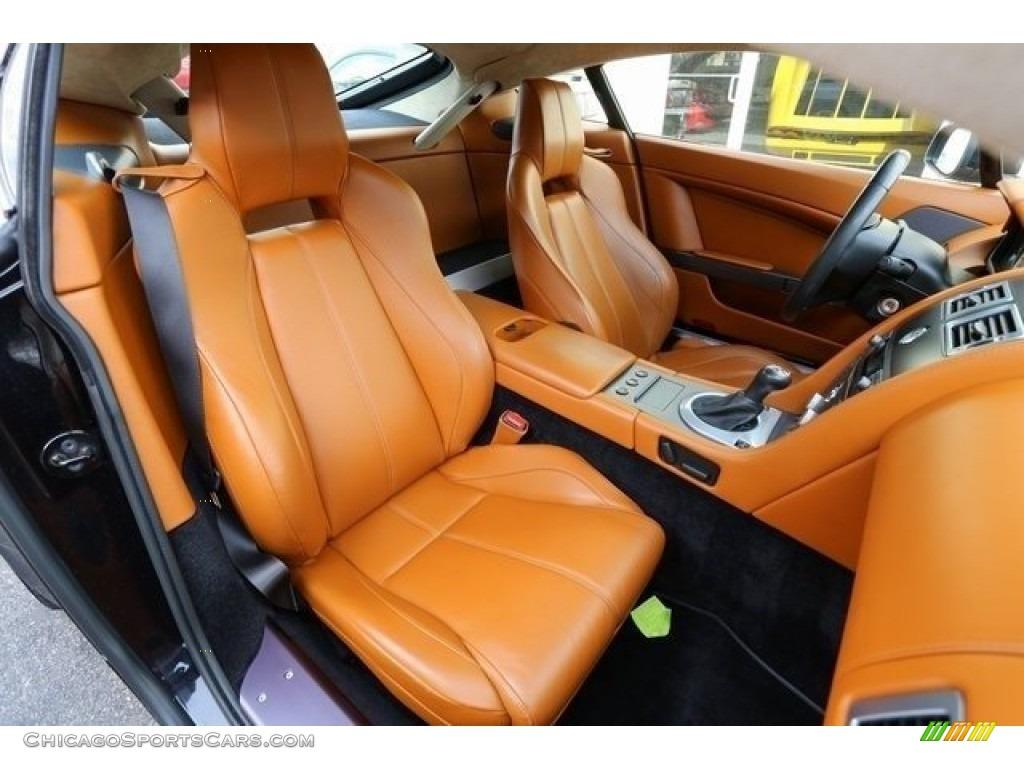 2007 V8 Vantage Coupe - Black / Kestrel Tan photo #17