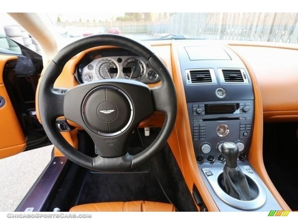 2007 V8 Vantage Coupe - Black / Kestrel Tan photo #18
