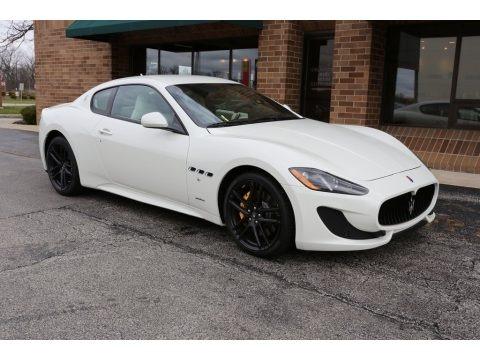 Bianco Eldorado 2016 Maserati GranTurismo Sport Coupe