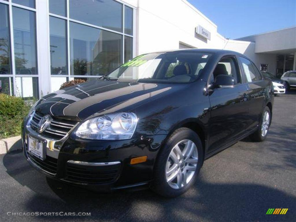 2007 Volkswagen Jetta Wolfsburg Edition Sedan in Black - 052994 | ChicagoSportsCars.com - Cars ...