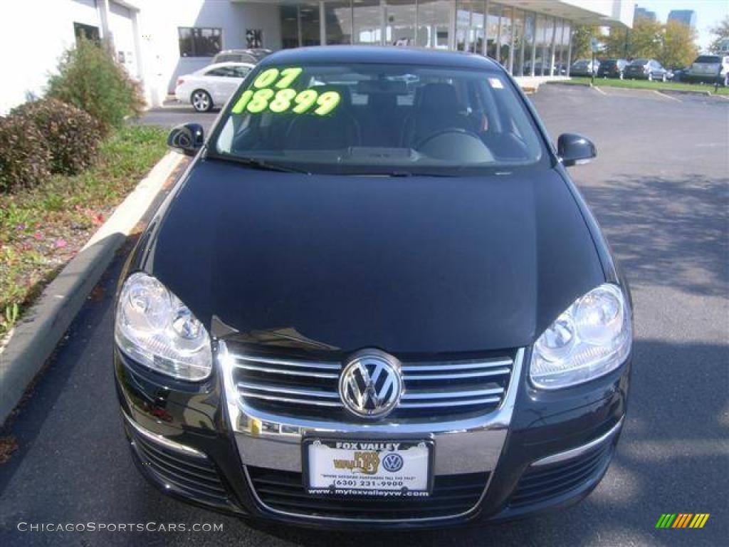 2007 Volkswagen Jetta Wolfsburg Edition Sedan In Black Photo 7 052994 Chicagosportscars Com