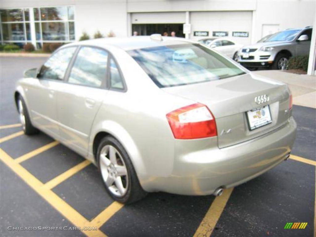 2004 Audi A4 1 8t Quattro Sedan In Champagne Metallic Photo 3 223377 Chicagosportscars Com
