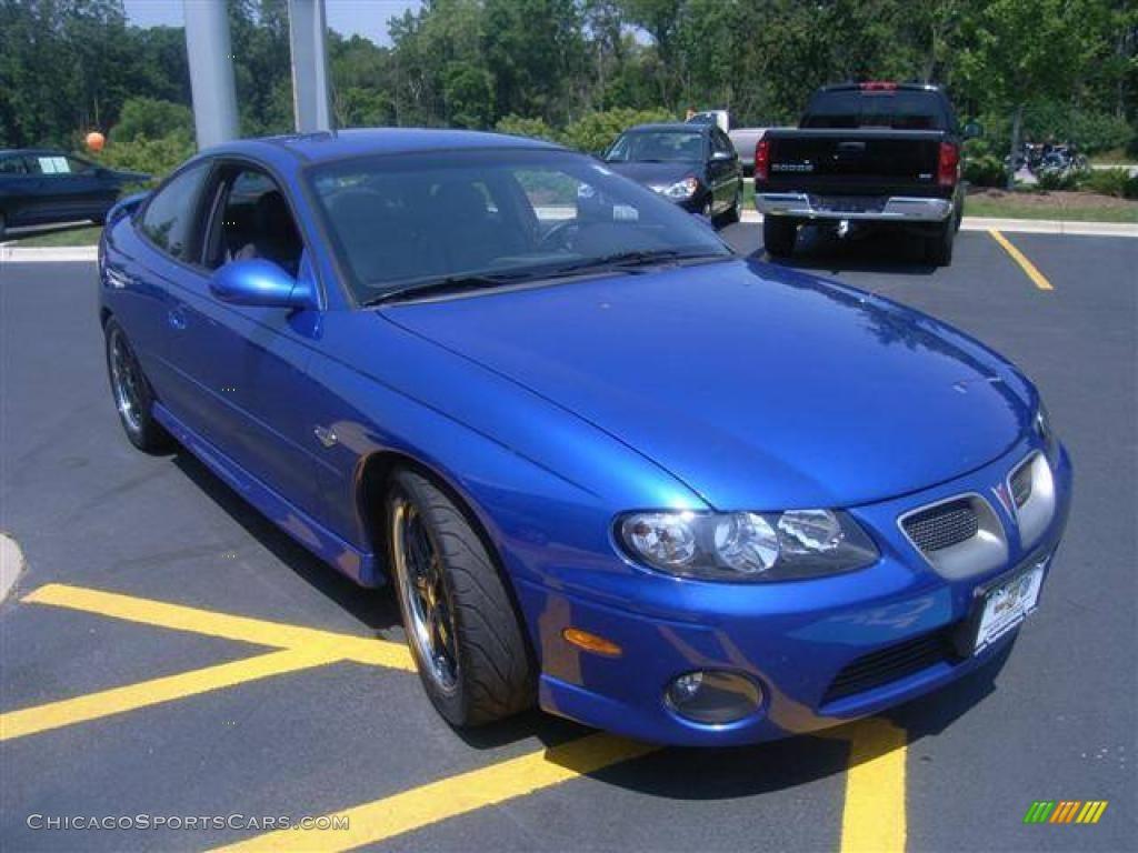 2004 Pontiac Gto Coupe In Impulse Blue Metallic Photo 6 191914 Chicagosportscars Com Cars