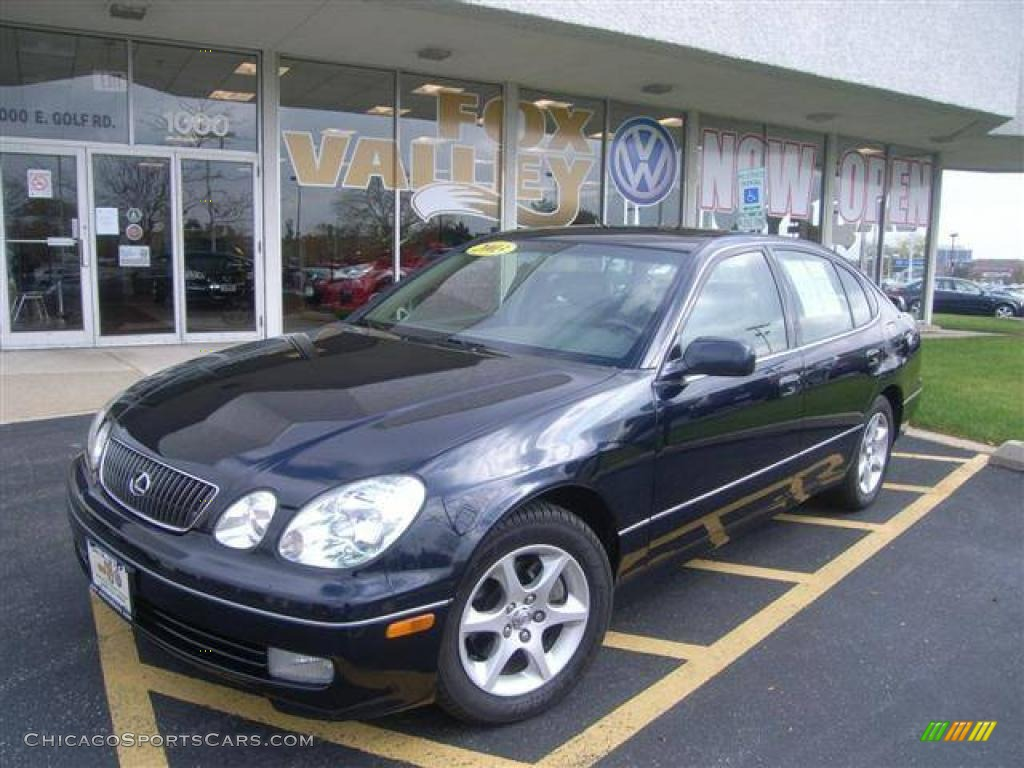 2003 Lexus GS 300 in Blue Onyx Pearl - 180777 | ChicagoSportsCars.com - Cars for sale in Illinois