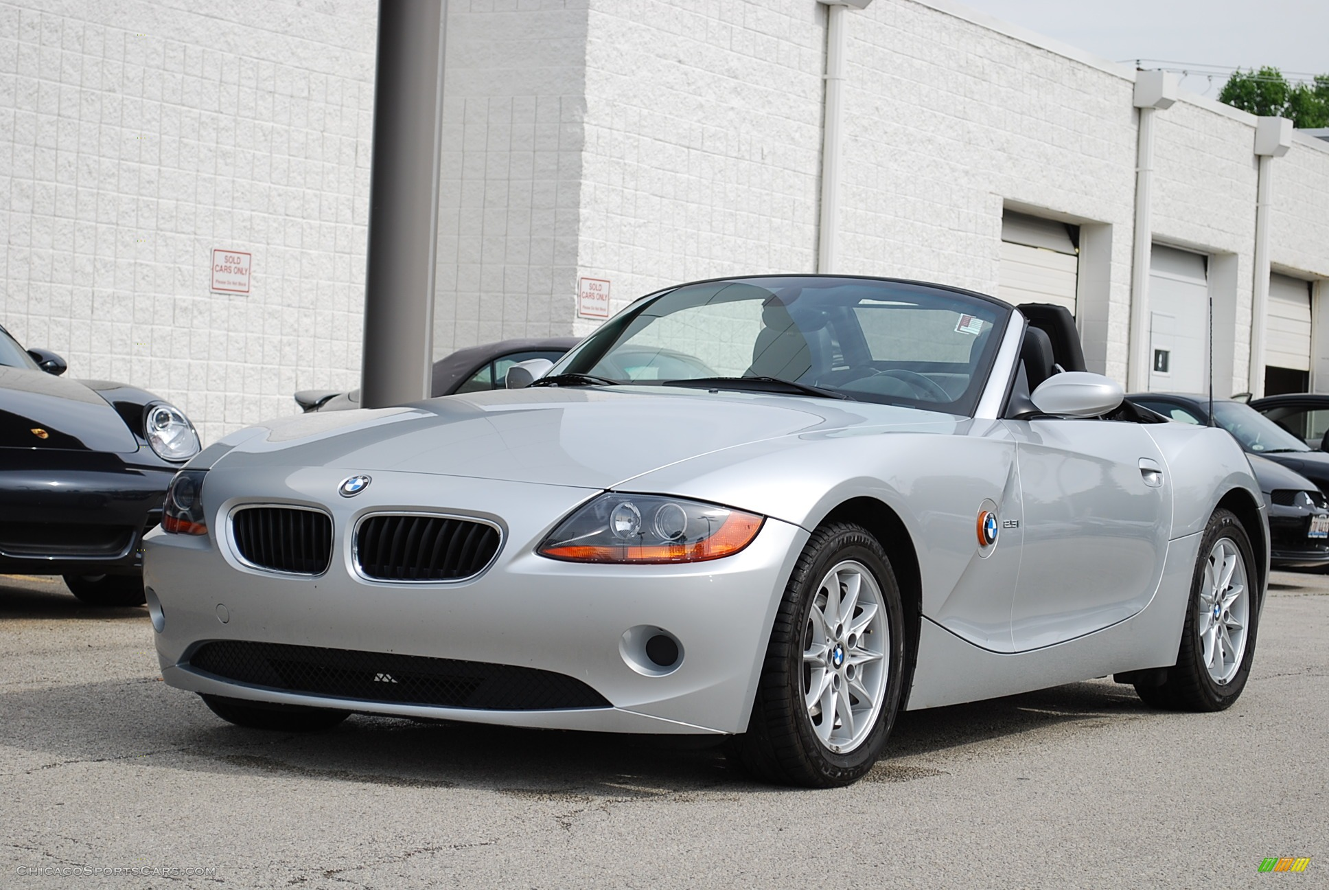 2004 Bmw Z4 2 5i Roadster In Titanium Silver Metallic