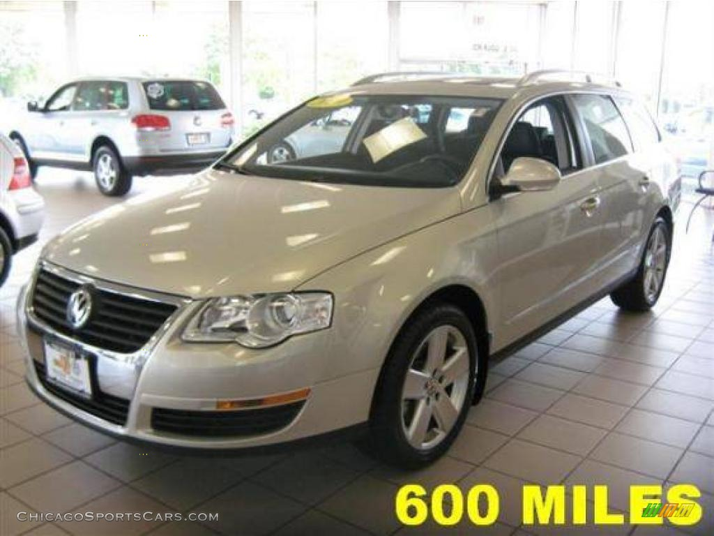 2009 Volkswagen Passat Komfort Wagon in White Gold Metallic - 068162 | ChicagoSportsCars.com ...