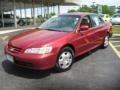 Honda Accord EX V6 Sedan Firepepper Red Pearl photo #1