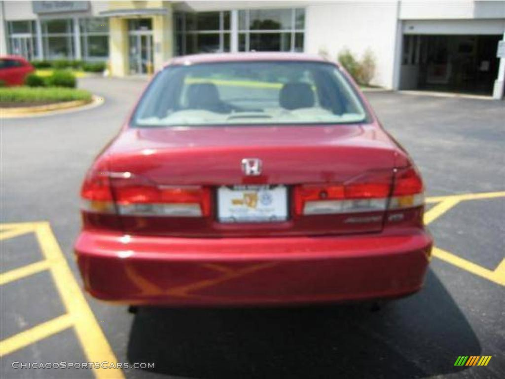2014 Honda Accord Sport For Sale >> 2001 Honda Accord EX V6 Sedan in Firepepper Red Pearl ...