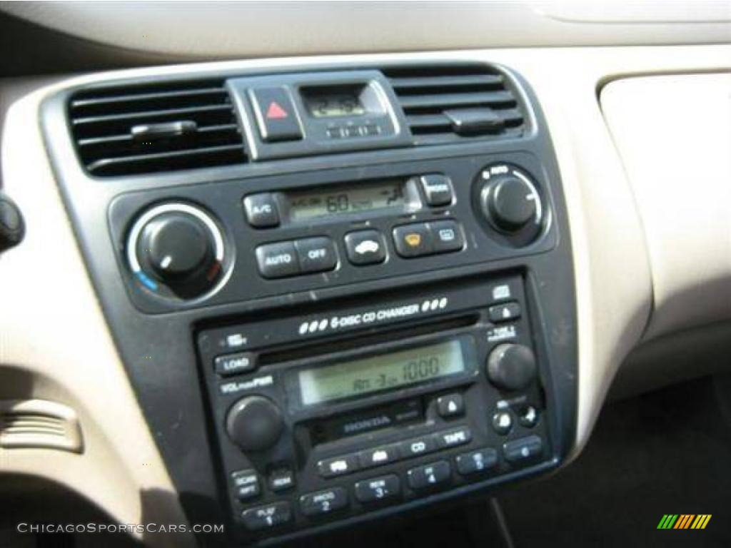 2001 Accord EX V6 Sedan - Firepepper Red Pearl / Ivory photo #12