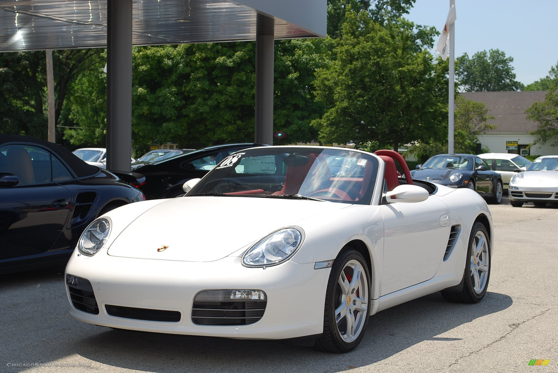 2008 Porsche Boxster S In Carrara White 730565