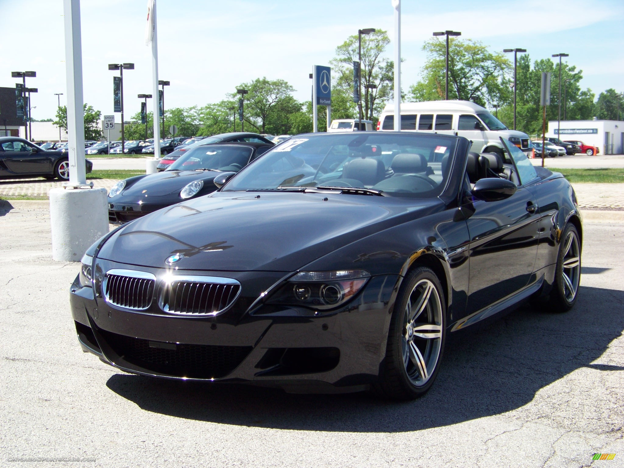 2007 bmw m6 convertible in black sapphire metallic s32204 cars for. Black Bedroom Furniture Sets. Home Design Ideas