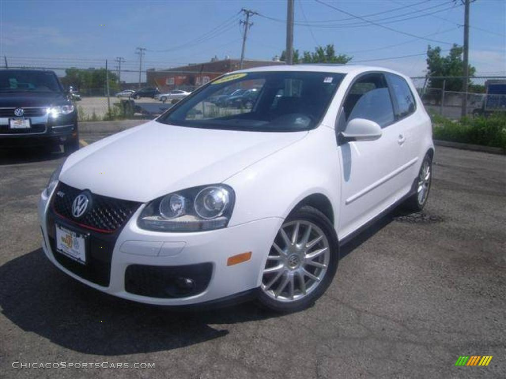 2006 volkswagen gti 2 0t in candy white 127512. Black Bedroom Furniture Sets. Home Design Ideas