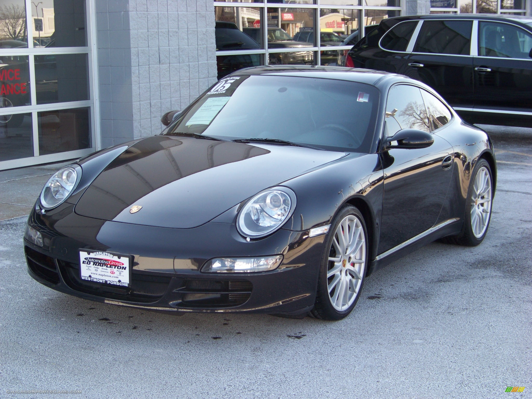 2005 Porsche 911 Carrera S Coupe in Basalt Black Metallic ...