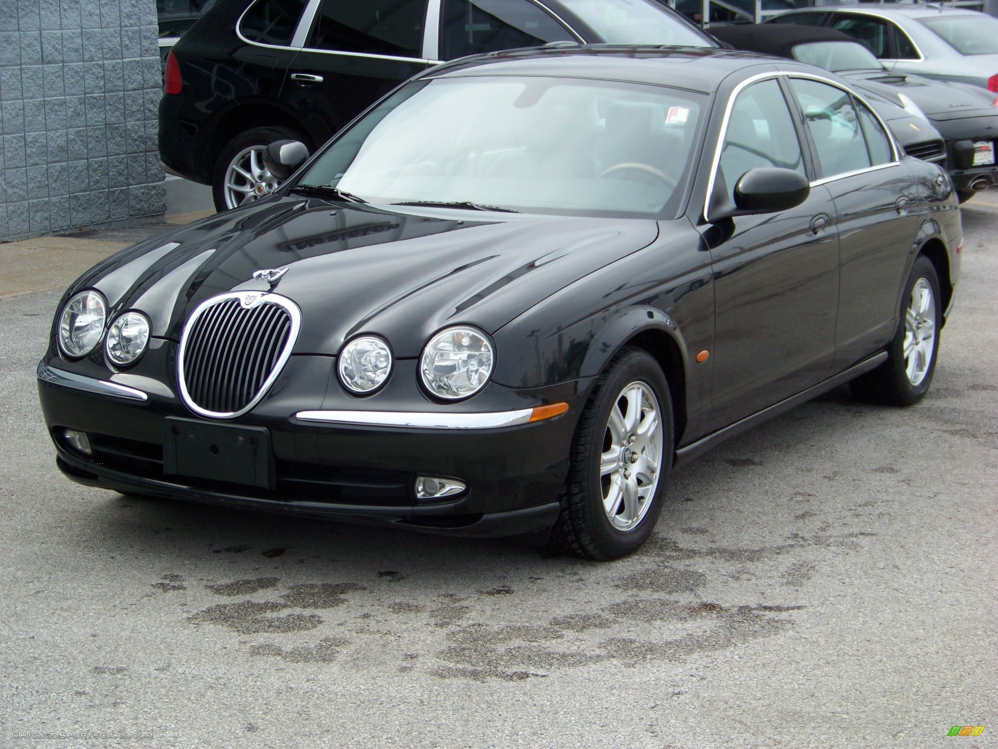 2003 jaguar s type 3 0 in black m51349