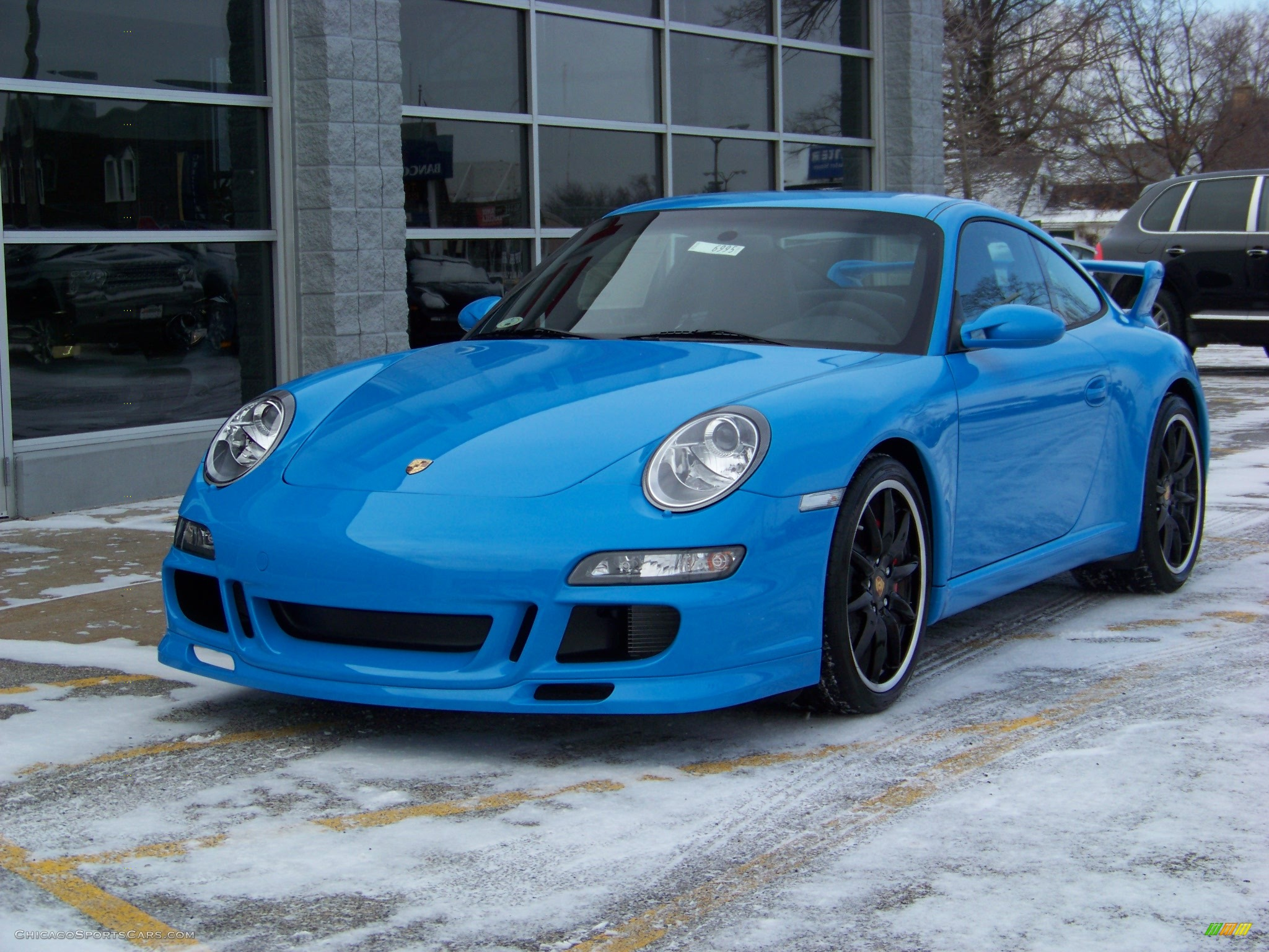 2008 Porsche 911 Carrera S Coupe In Mexico Blue Paint To