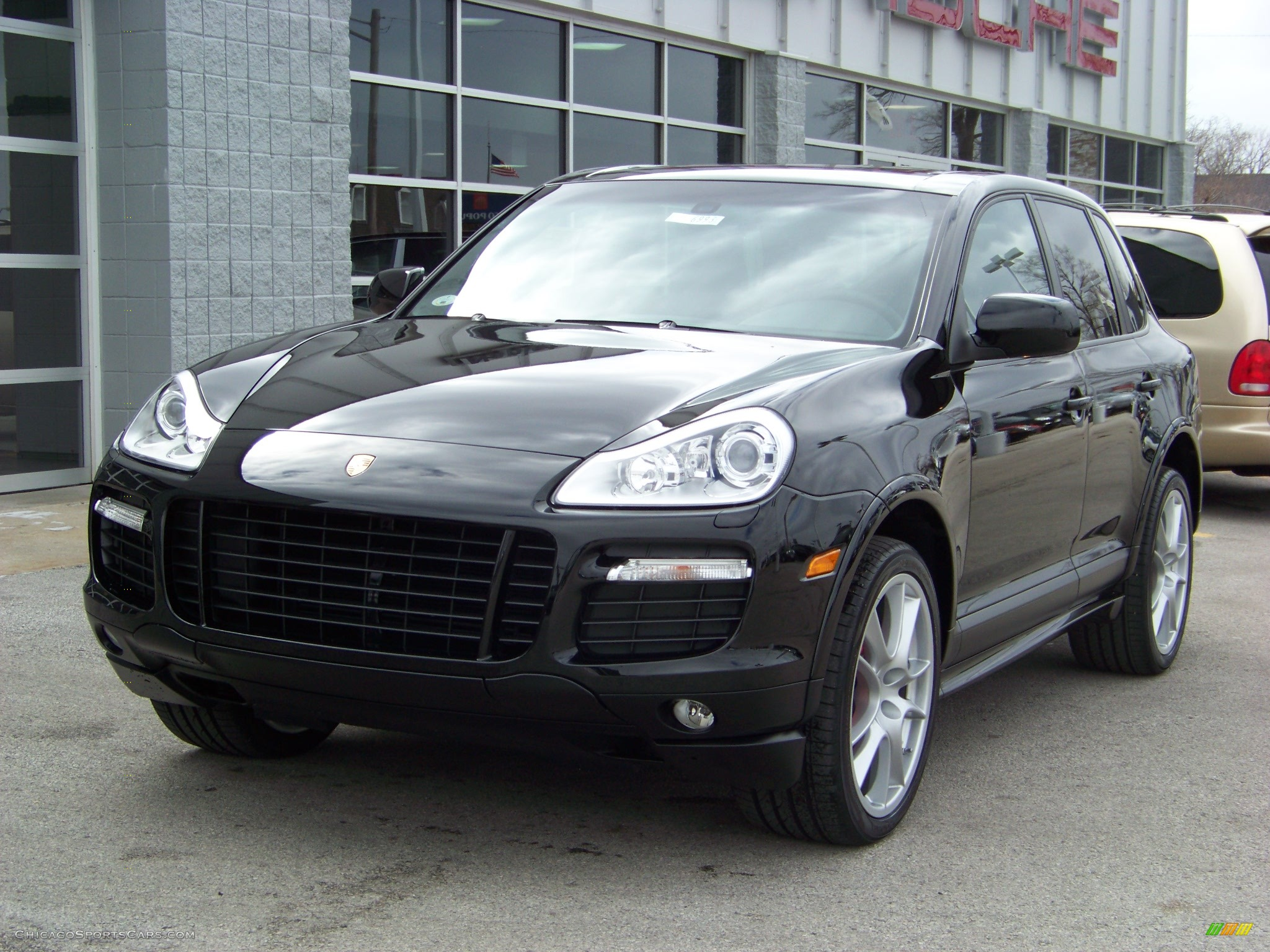 2008 porsche cayenne gts in black a70775. Black Bedroom Furniture Sets. Home Design Ideas