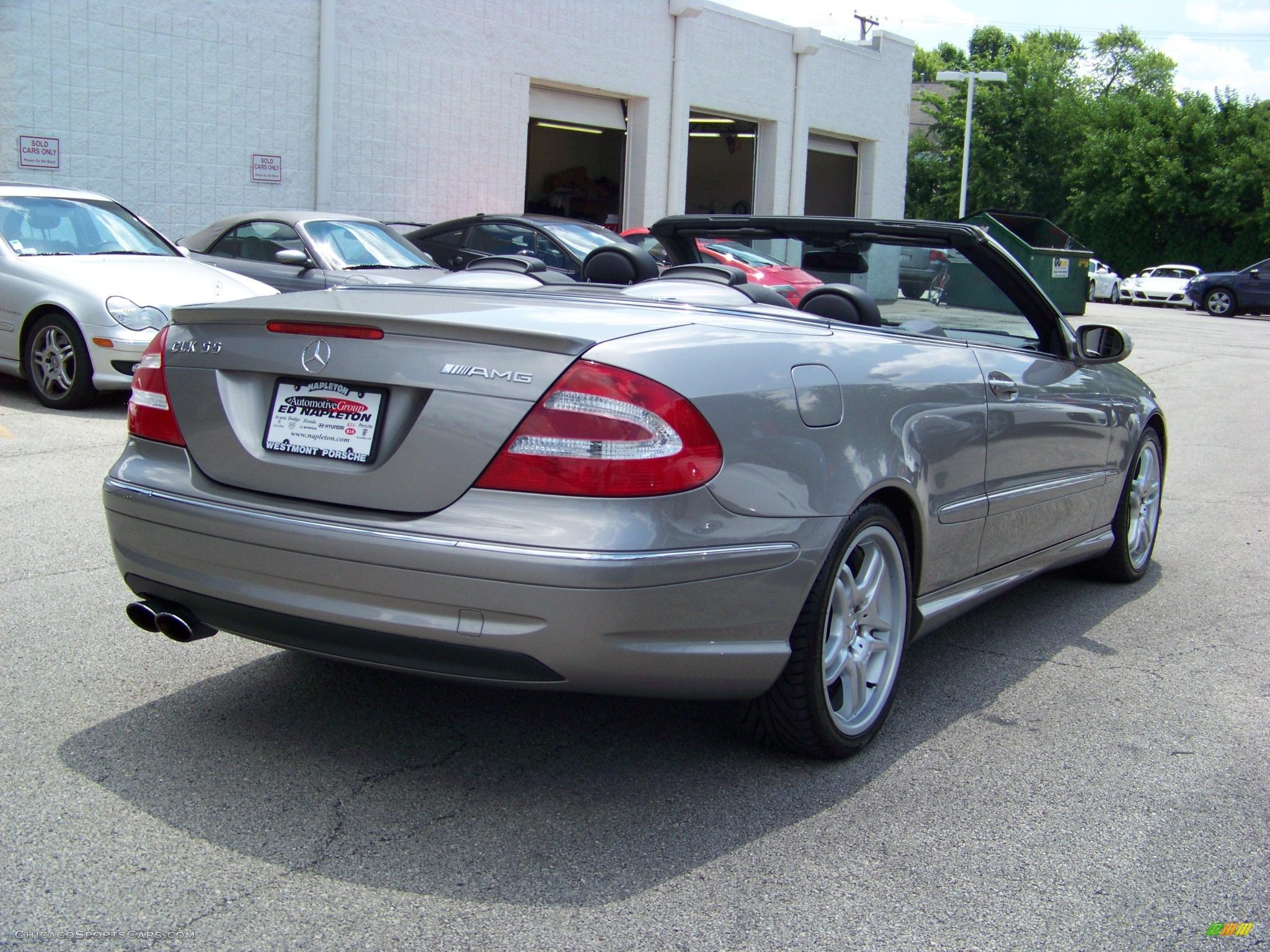 2005 Mercedes-Benz CLK 55 AMG Cabriolet in Pewter Metallic ...