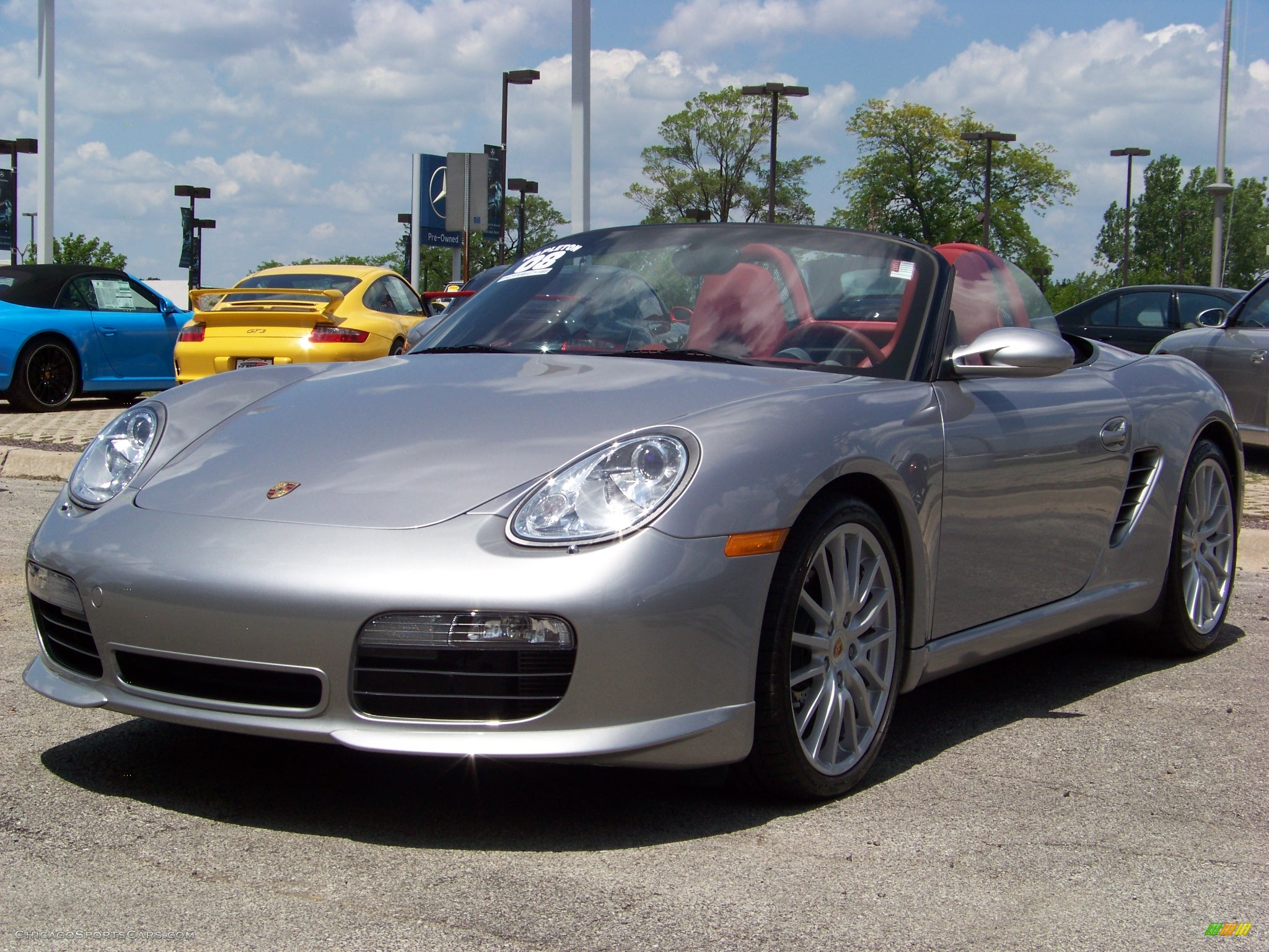 2008 porsche boxster rs 60 spyder in gt silver metallic 731576 cars. Black Bedroom Furniture Sets. Home Design Ideas