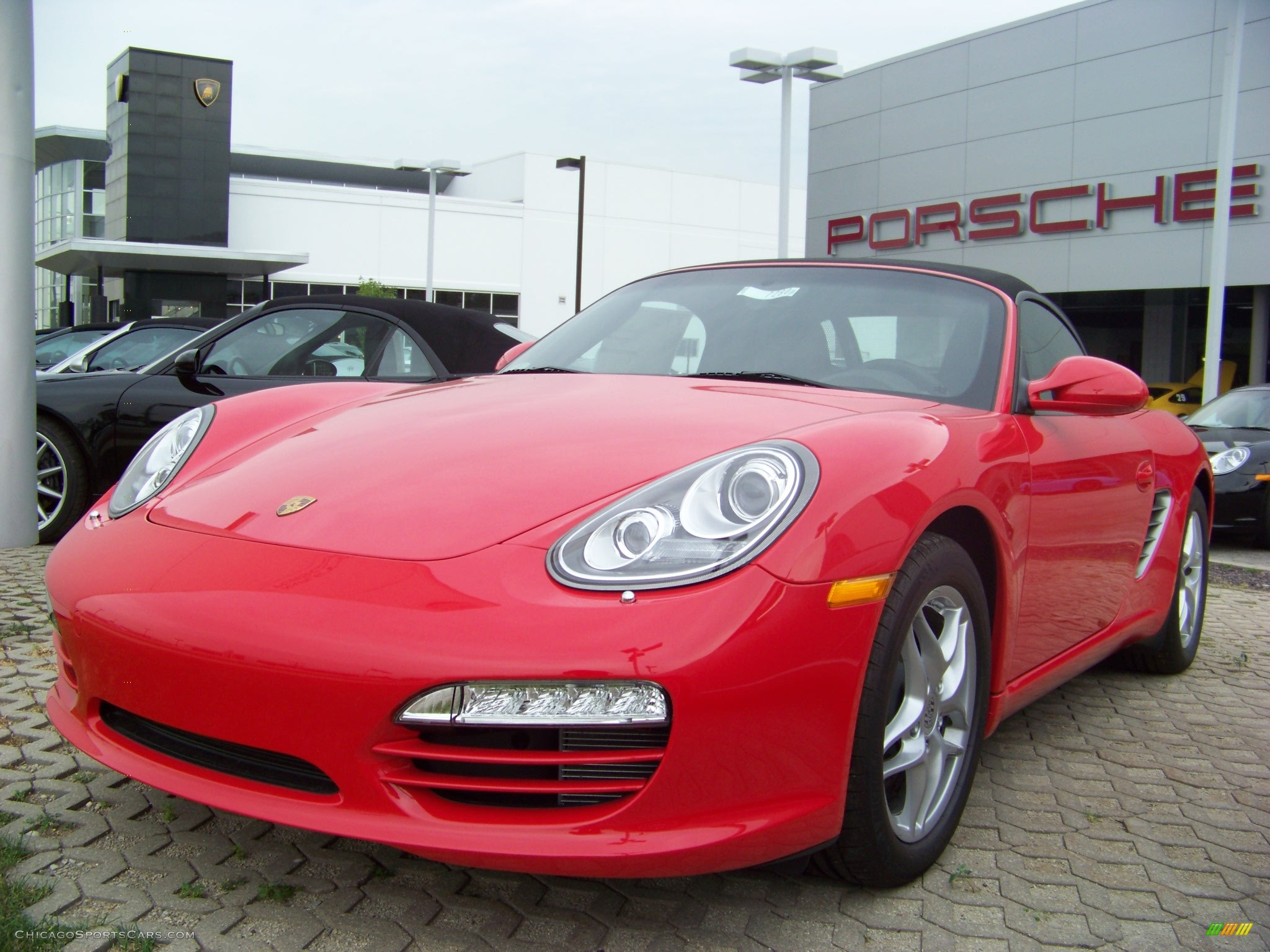 2009 porsche boxster in guards red 710104 cars for sale in illinois. Black Bedroom Furniture Sets. Home Design Ideas